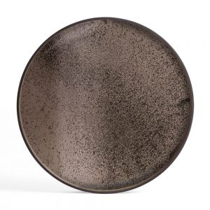 Elegant Living ПОДНОС BRONZE MIRROR XL