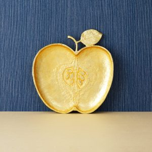 Elegant Living ПЛАТО APPLE GOLD
