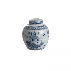 Elegant Living БУРКАН FLOWER POT ROUND S FISHES