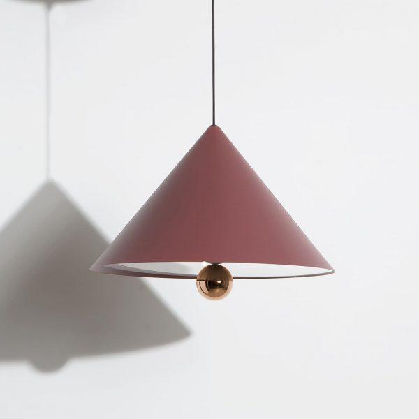 Elegant Living ПЕНДАНТ CHERRY LED BROWN RED LARGE