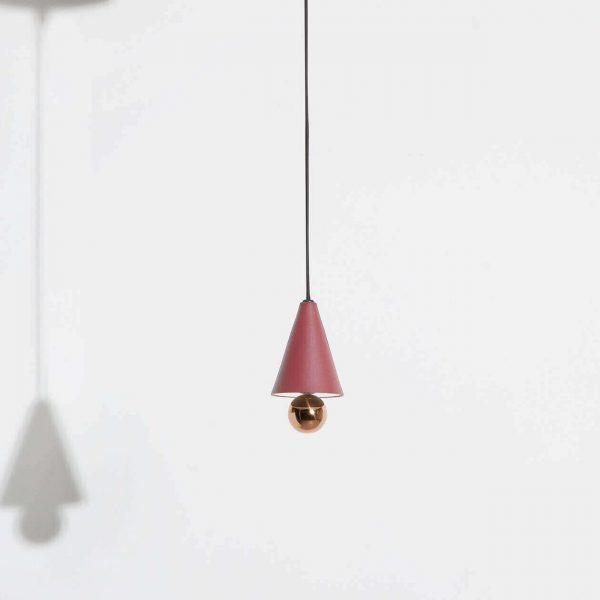 Elegant Living ПЕНДАНТ CHERRY LED BROWN RED MINI-XS