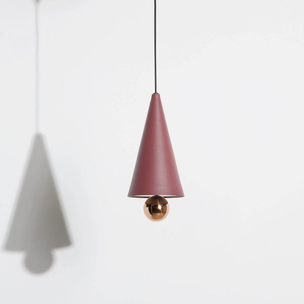 Elegant Living ПЕНДАНТ CHERRY LED BROWN RED SMALL