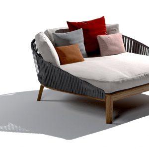Elegant Living ШЕЗЛОНГ MOOD LOUNGE BED TRIBU