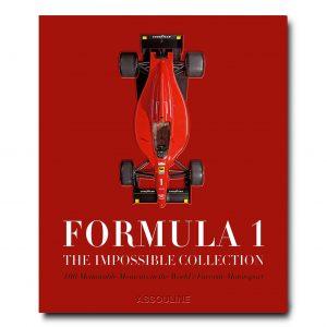 Elegant Living КНИГА FORMULA 1: THE IMPOSSIBLE COLLECTION