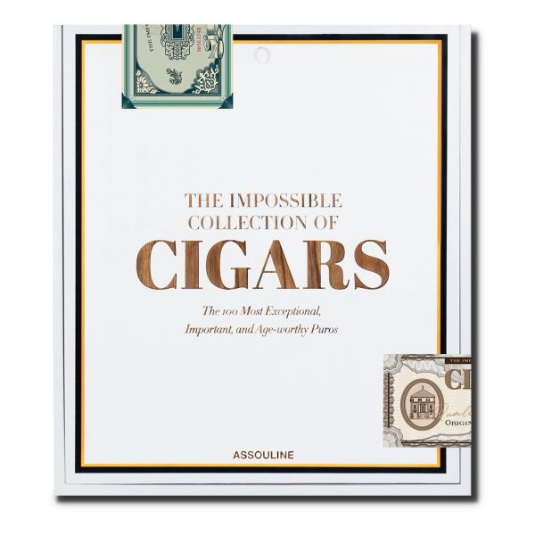 Elegant Living КНИГА THE IMPOSSIBLE COLLECTION OF CIGARS
