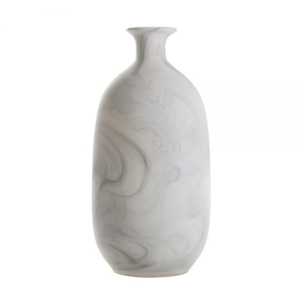ваза asiatides gourd marble look l