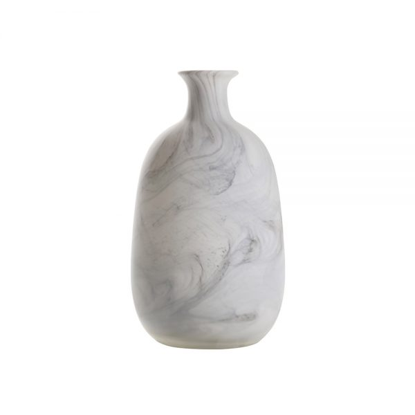 ваза asiatides gourd marble look m