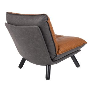 Elegant Living СТОЛ LAZY SACK LOUNGE LL BROWN ZUIVER