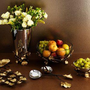 Elegant Living ВАЗА GOLDEN GINKGO