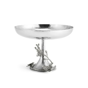 Elegant Living КУПА WHITE ORCHID FOOTED CENTERPIECE